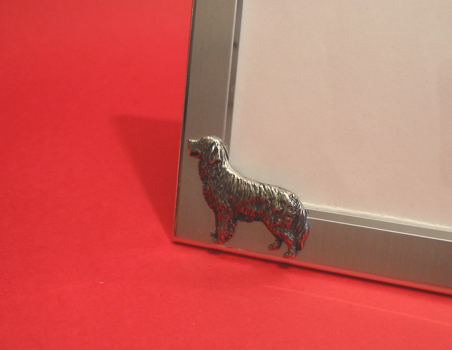 Irish Setter Motif 4 x 6 Picture Photo Frame Landscape Dog Gift NEW