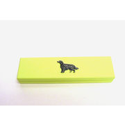 Lime Wooden Pen Box with Pens