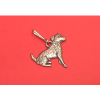 Jack Russell Dog Zipper Pull Pewter Pet Gift