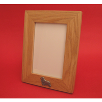 "Cocker Spaniel Real Oak Portrait 6"" x 4"" Photo Frame Gift"