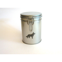 German Shepherd Design Motif Dog Treat Tin Mother Xmas Gift