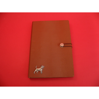Beagle A5 Tan Journal Notebook Dog Gift