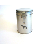 Greyhound Design Motif Dog Treat Tin Mother Xmas Gift