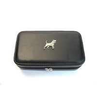 Beagle Design Large Black Travel Jewellery Box Useful Gift