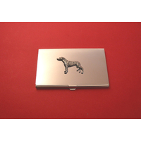 Greyhound Chrome Plated Business or Credit Card Holder