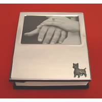 West Highland Terrier Plated Photograph Album 100 6 x 4