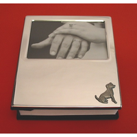 Jack Russell Plated Photograph Album 100 6 x 4 Photos