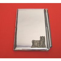 Yorkshire Terrier Chrome Notebook & Pen