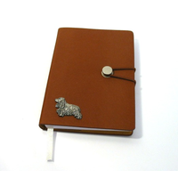 Cocker Spaniel A6 Tan Journal Notebook Dog Gift