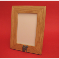 "Cockapoo Real Oak Portrait 6"" x 4"" Photo Frame Gift"