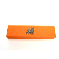 Cairn Terrier on Apricot Wooden Pen Box with 2 Pens