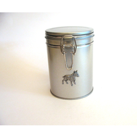 English Bull Terrier Design Motif Dog Treat Tin Mother Xmas Gift