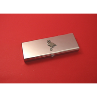 Flamingo Pewter Motif on Seven Day Pill Box Gift