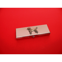 Poodle Pewter Motif on Seven Day Pill Box Gift