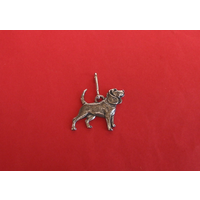 Beagle Dog Zipper Pull Pewter Pet Gift