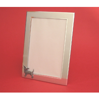 "Chihuahua Dog Portrait 7"" x 5"" Photo Frame Dog Gift"