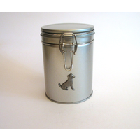 Jack Russell Design Motif Dog Treat Tin Mother Xmas Gift