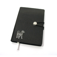 Cockapoo A6 Black Journal Notebook Dog Gift