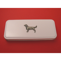 Springer Spaniel Tin Pencil Case with 2 Pencils Useful Xmas Gift