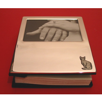 Short Haired Cat Plated Photograph Album 100 6 x 4 Photos
