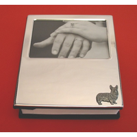 Corgi Dog Plated Photograph Album 100 6 x 4 Photos