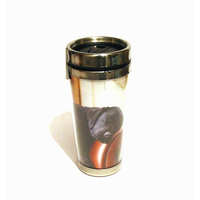 Country Matters Sleeping Black Lab Travel Mug