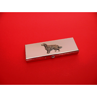 Irish Setter Pewter Motif on Seven Day Pill Box Gift