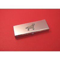 Labrador Retriever Pewter Motif on Seven Day Pill Box Gift