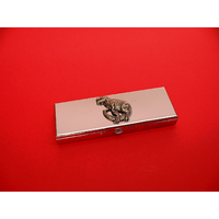 Dinosaur Pewter Motif on Seven Day Pill Box Gift