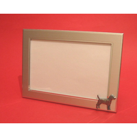 "Patterdale Terrier Landscape 4"" x 6"" Photo Frame Dog Gift"