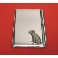 Labrador Retriever Chrome Notebook & Pen