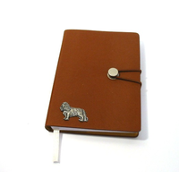 King Charles Spaniel A6 Tan Journal Notebook Dog Gift