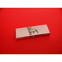 French Bulldog Pewter Motif on Seven Day Pill Box Gift