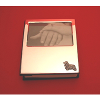 Cocker Spaniel Silver Plated Photograph Album 100 6 x 4 Photos