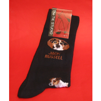 Jack Russell Dog Men's Socks Fashion Gift