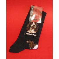Springer Spaniel Dog Men's Socks Fashion Gift