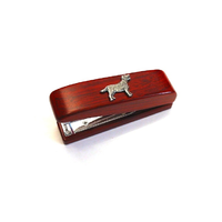 Labrador Retriever Motif on Rosewood Stapler Stationary Gift