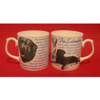Best Friend Labrador Dog Fine Bone China Mug