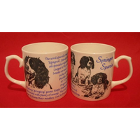 Springer Spaniel Dog 'Best Friend' Fine Bone China Mug