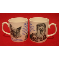 Yorkshire Terrier Dog 'Best Friend' Fine Bone China Mug