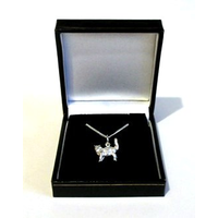 Silver Cat Necklace Jewellery Cat Gift