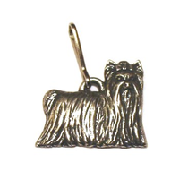 Yorkshire Terrier Pewter Zipper Pull Dog Gift